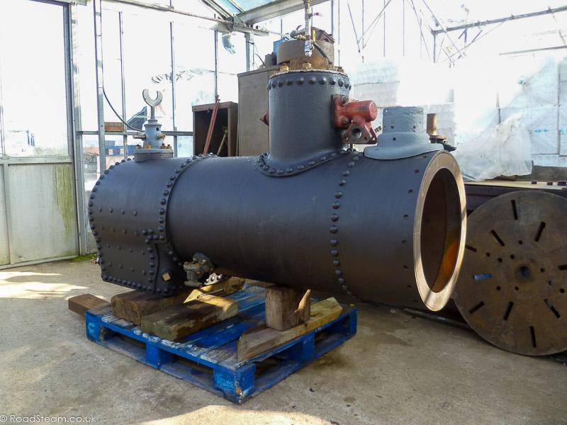 2' gauge loco we have had in the boiler shop.