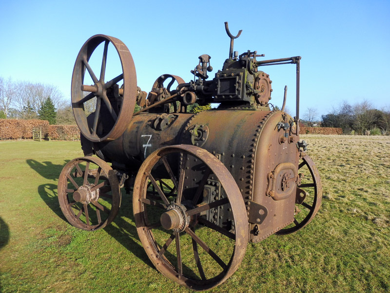 Ruston Proctor & Co. Ltd 8hp Portable Steam Engine.