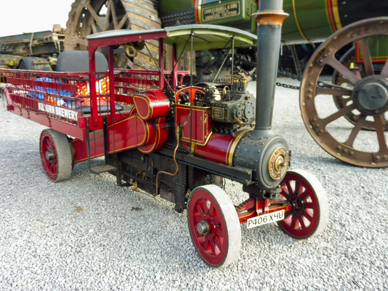 Burrell wagon replica - wagon 3319