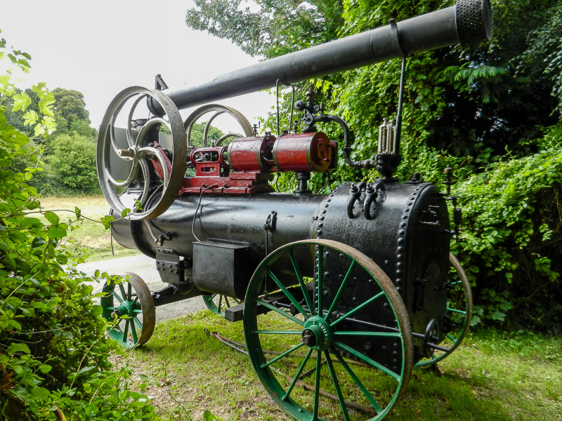 French designed Nassivet and Onillion engine. This engine required a new backhead, firebox and tubeplate.